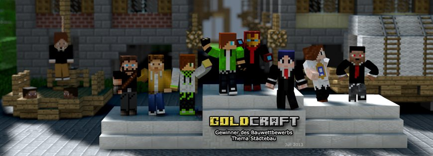 GoldCraft CityContest Gewinner